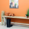 matt-emulsion-paint-orange-Deep-saffron-wall-and-bench-vintro.jpg