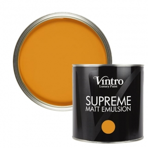 "Deep Saffron - ""Supreme"" Matt Emulsion 1L"
