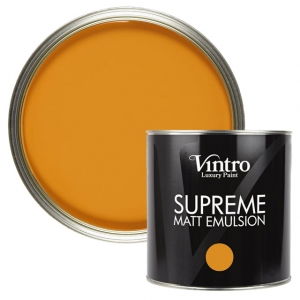 "Deep Saffron - ""Supreme"" Matt Emulsion 2,5L"