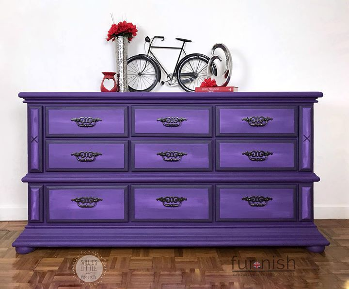 Kolor purpurowy Royal Purple Vintro - komoda pinterest ru furnishuk