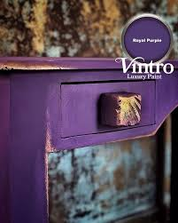Kolor purpurowy Royal Purple Vintro - komoda vintropaintbahrain
